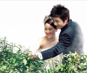 天为证茶为媒 新人认养茶树作为婚姻的见证