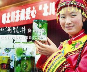 北川优质茶叶首次进山西(图)