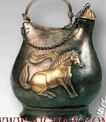 国家顶级国宝,仿游牧民族的皮囊式水壶