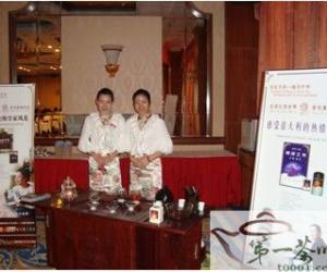 泰真爱茶艺队应邀亮相海西 新跨越3G助先行企业峰会