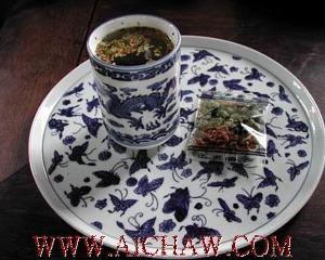 熏豆茶的配制