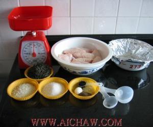 简单自制茶熏鸡翅过程(图解)