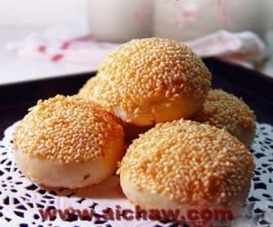 酥饼|茶香酥饼|茶香酥饼的做法