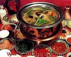 茶火锅、减肥火锅花草茶、冬天吃茶火锅