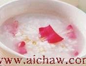 熬粥秘笈:红茶玫瑰粥