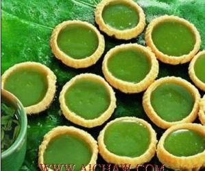 绿茶蛋挞的做法