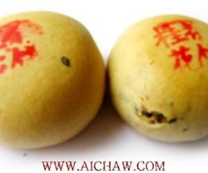 九江桂花茶饼