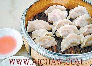 台湾地区流行美食茶香元宝