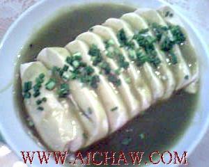 绿茶拌豆腐的制作方法
