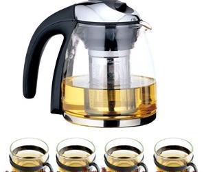 玻璃茶杯|耐高温玻璃茶具|玻璃茶具图片
