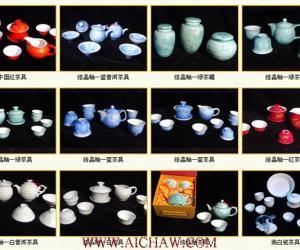 结晶釉茶具欣赏