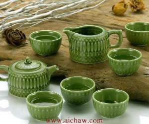 活瓷茶具图片欣赏
