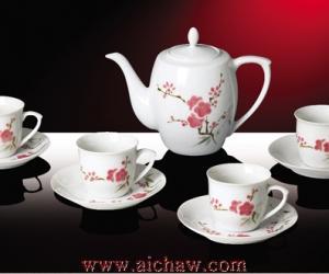 红色官窑茶具欣赏