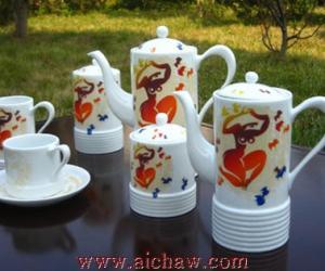 江西景德镇陶瓷茶具套装