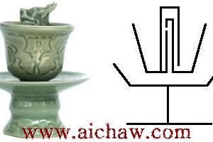 公道杯|白瓷公道杯|青花公道杯