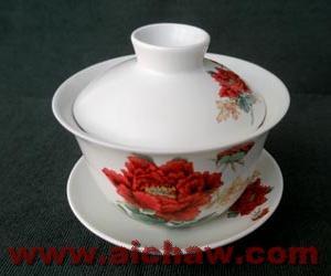 盖碗|盖碗茶具|原始青瓷盖碗|盖碗使用