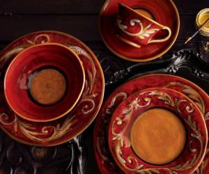 彩绘茶具,彩绘茶具图片欣赏