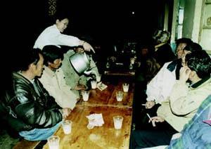 西藏茶馆:光明甜茶馆