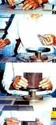 紫砂成型――镶身筒成型法