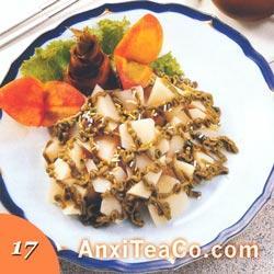 绿茶沙拉笋