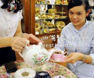 知名英国茶专卖店在高雄市开出分店(图)