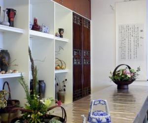 花艺与茶席设计图片欣赏|茶席设计