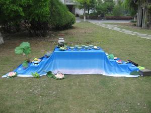 2009年首届中外茶席设计展 (茶席设计图片)