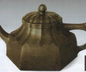 水仙花瓣方壶
