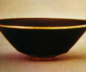 北宋时期:黑釉茶盏