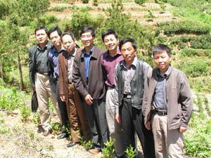 安徽省�r科院�M在桐城建立多抗茶�淞挤N�x繁及�G色食品茶基地