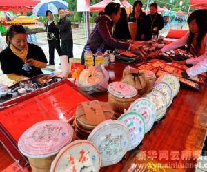 云南普洱茶节 特色产品受青睐