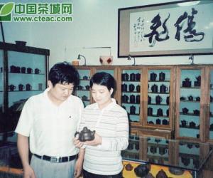 名门紫砂,经典壶艺――记青年陶艺家夫妇唐利明、姚亚勤