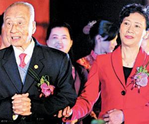 102岁的中国茶王张天福再婚娶女演员