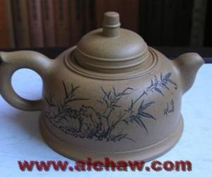 周桂珍紫砂壶-钟形壶