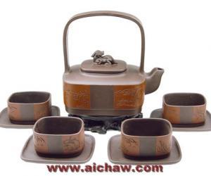 全套紫砂壶茶具欣赏