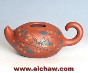 原矿红清水泥制作紫砂壶