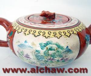 清代的紫砂壶欣赏