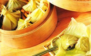 抹茶糯米角(图)