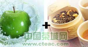 苹果+绿茶,健康减肥!