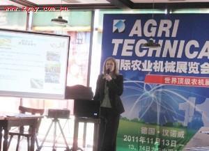 2011年AGRITECHNICA中国企业参展规模全面超越上届水平