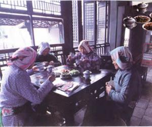 千年古镇阿婆茶传说