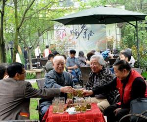 2012成都・宽庭晒茶会:展示最新潮茶语