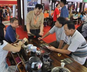 广州茶博会:茶客话说安化黑茶大戏