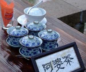 """周庄的""""阿婆茶""""传说"""