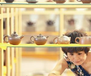茶博会紫砂壶抢风头
