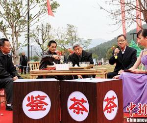 """第五届""""中国茶乡杯茶王赛""""武夷山市星村镇举行"""