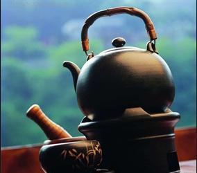 济南泉边饮茶习俗