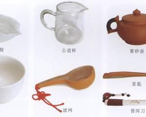 鉴黑茶、泡黑茶:普洱生饼茶