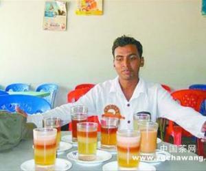 孟加拉小镇的七层茶