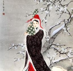 昭君白鹤茶的传说
